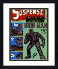 """Framed Stan Lee Autographed 16"""" x 20"""" Tales of Suspense #39 Photograph with Black Ink - Stan Lee Hologram"""