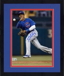 """Framed Starlin Castro Chicago Cubs Autographed 8"""" x 10"""" Photograph"""
