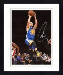 """Framed Stephen Curry Golden State Warriors Autographed 8"""" x 10"""" Fade Away Photograph"""