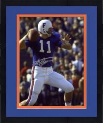"Framed Steve Spurrier Florida Gators Autographed 8"" x 10"" Quarterback Photograph"