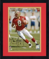"Framed Steve Young San Francisco 49ers Autographed 8"" x 10"" Photograph"