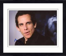 Framed Ben Stiller Autographed 8'' x 10'' Black Shirt Photograph