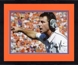 Framed SWEENEY, DABO AUTO (CLEMSON/POINTING) 8X10 PHOTO - Mounted Memories