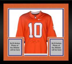 Framed Tajh Boyd Clemson Tigers Autographed Nike Orange Jersey