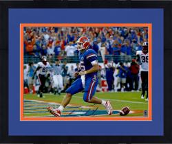 Framed Tim Tebow Autographed Florida Gators 16x20 Photo