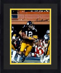 "Framed Terry Bradshaw Pittsburgh Steelers Autographed 16"" x 20"" Super Bowl XIII Photograph"