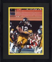 "Framed Terry Bradshaw Pittsburgh Steelers Autographed 8"" x 10"" Super Bowl XIII Photograph"