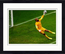 "Framed Tim Howard Team USA Autographed 16"" x 20"" Yellow Jersey Photograph"