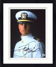 "Framed Tom Cruise Autographed 8"" x 10"" Captain Photograph - Beckett COA"