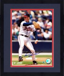 Framed Tom Glavine Atlanta Braves Autographed 8'' x 10'' Wind Up Photograph