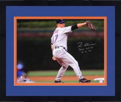 "Framed Tom Glavine New York Mets 300th Win Autographed 16"" x 20"" Photograph with ""300 Win 8-5-07"" Inscription"