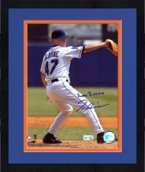 """Framed Tom Glavine New York Mets Autographed 8"""" x 10"""" Photograph with Happy Birthday Inscription"""