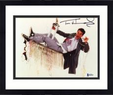 "Framed Tom Hanks Autographed 8"" x 10"" Bachelor Party Photograph - Beckett COA"