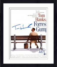 "Framed Tom Hanks Autographed 8"" x 10"" Forrest Gump Movie Photograph - Beckett COA"