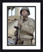 "Framed Tom Hanks Autographed 8"" x 10"" Saving Private Ryan Vertical Photograph - Beckett COA"