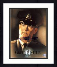 "Framed Tom Hanks Autographed 8"" x 10"" The Green Mile Movie Photograph - Beckett COA"