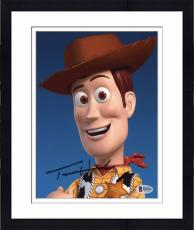 "Framed Tom Hanks Autographed 8"" x 10"" Toys Story Woody Vertical Photograph - Beckett COA"