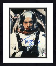"Framed Tom Hanks Autographed 8""x 10"" Apollo 13 Wearing Astronaut Suit Photograph - PSA/DNA COA"