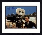 """Framed Tom Hanks Autographed 8""""x 10"""" That Thing You Do! Looking through Camera Photograph - Beckett COA"""