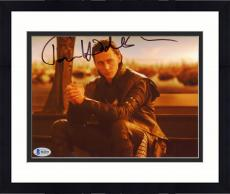 "Framed Tom Hiddleston Autographed 8"" x 10"" Thor Hands Together Photograph - Beckett COA"