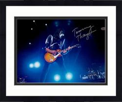 """Framed Tommy Thayer Autographed 11"""" x 14"""" Playing Guitar Photograph"""