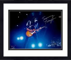 "Framed Tommy Thayer Autographed 11"" x 14"" Playing Guitar Photograph"
