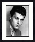 "Framed Tony Curtis Autographed 8"" x 10"" Photograph - JSA"