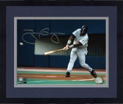 "Framed Tony Gwynn San Diego Padres Autographed 8"" x 10"" Swinging Photograph"