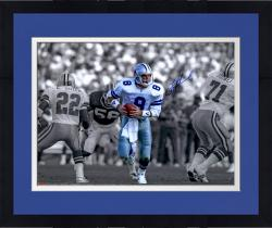 "Framed Troy Aikman Dallas Cowboys Autographed 16"" x 20"" Spotlight Scramble Photograph"