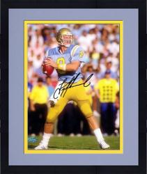 "Framed Troy Aikman UCLA Bruins Autographed 8"" x 10"" Dropback Photograph"