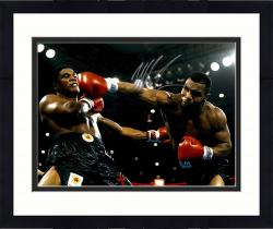 Framed TYSON, MIKE AUTO (KNOCKDOWN) 16X20 PHOTO - Mounted Memories