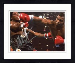 Framed TYSON, MIKE AUTO (KNOCKDOWN) 8x10 PHOTO - Mounted Memories