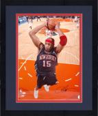 "Framed Vince Carter New Jersey Nets Autographed 16"" x 20"" Photograph"