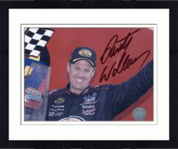 Framed WALLACE, RUSTY AUTO (MILLER LITE/ARM UP) 8X10 PHOTO - Mounted Memories