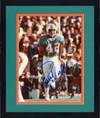 Framed Paul Warfield Autographed Dolphins 8x10 Photo