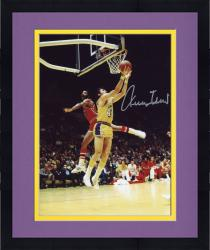 Framed Jerry West Autographed Lakers 8x10 Photo