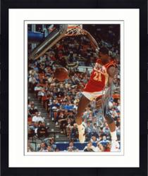 Framed Dominique Wilkins Autographed Hawks 8x10 Photo