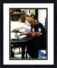 "Framed Will Smith & Alfonso Ribeiro Autographed 11"" x 14"" Fresh Prince of Bel Air Photograph - Beckett COA"