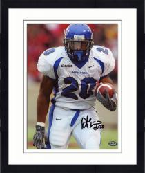 Framed Fanatics Authentic Autographed Deangelo Williams Memphis Tigers 8'' x 10'' White Jersey Photograph