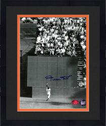 "Framed Willie Mays New York Giants The Catch Autographed 8"" x 10"" Photograph"