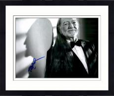 Framed Willie Nelson Autographed 11'' x 14'' Bow Tie Smiling Photograph
