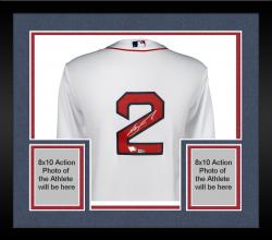 Framed Xander Bogaerts Boston Red Sox Autographed Replica White Jersey