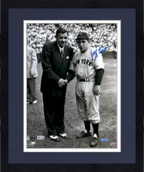 "Framed Yogi Berra New York Yankees Autographed 11"" x 14"" Photograph"