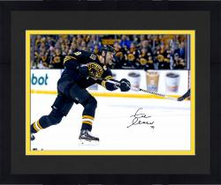 "Framed Zdeno Chara Boston Bruins Autographed 16"" x 20"" Horizontal Shooting Photograph"
