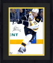"Framed Zdeno Chara Boston Bruins Autographed 16"" x 20"" Vertical White Uniform Photograph"