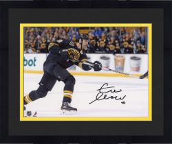 "Framed Zdeno Chara Boston Bruins Autographed 8"" x 10"" Horizontal Shooting Photograph"