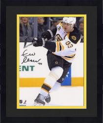 "Framed Zdeno Chara Boston Bruins Autographed 8"" x 10"" Vertical White Uniform Photograph"