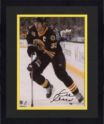 "Framed Zdeno Chara Boston Bruins Autographed 8"" x 10"" Vertical With Puck Photograph"