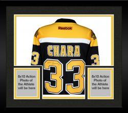 Framed Zdeno Chara Boston Bruins Autographed Reebok Premier Jersey