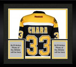 Framed Zdeno Chara Boston Bruins Autographed Reebok Premier Jersey